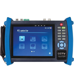 "7"" Touch Screen Multi-functional Tester Monitor (IP, CVBS, Analog, Built-in WiFi)"